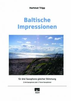 Baltische Impressionen (3 Saxophone)